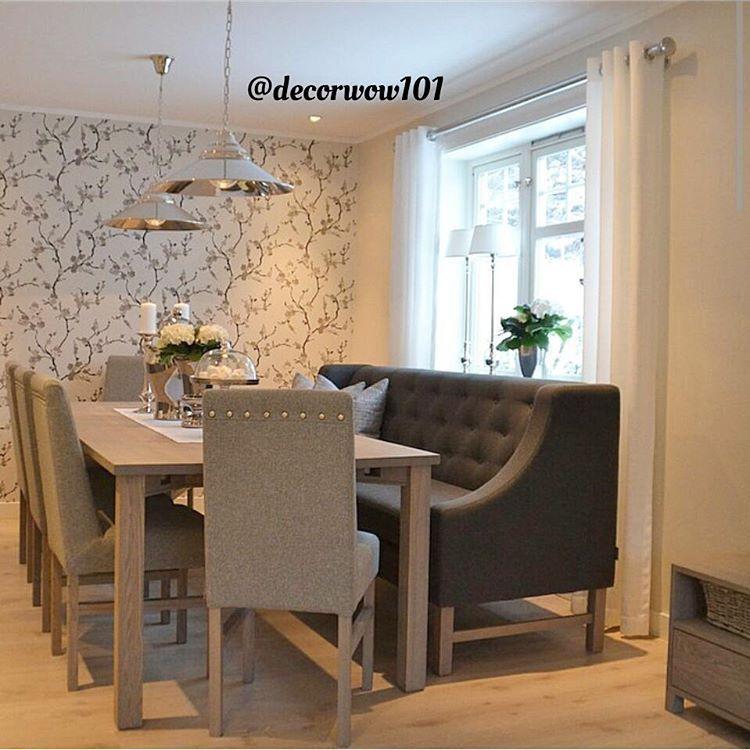 Interior On Instagram طاولة طعام ديكورواو Thanks Elinmjoh ديكور ديكورات مودرن ايكيا افكار فكره مناز Home Decor Home Luxury Living