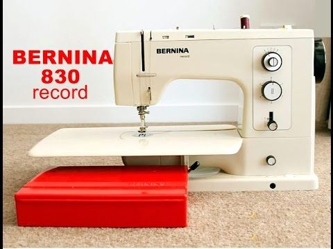 Image result for bernina 830 record