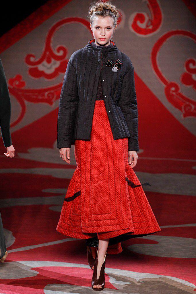 Ulyana Sergeenko - Fall 2012 Couture