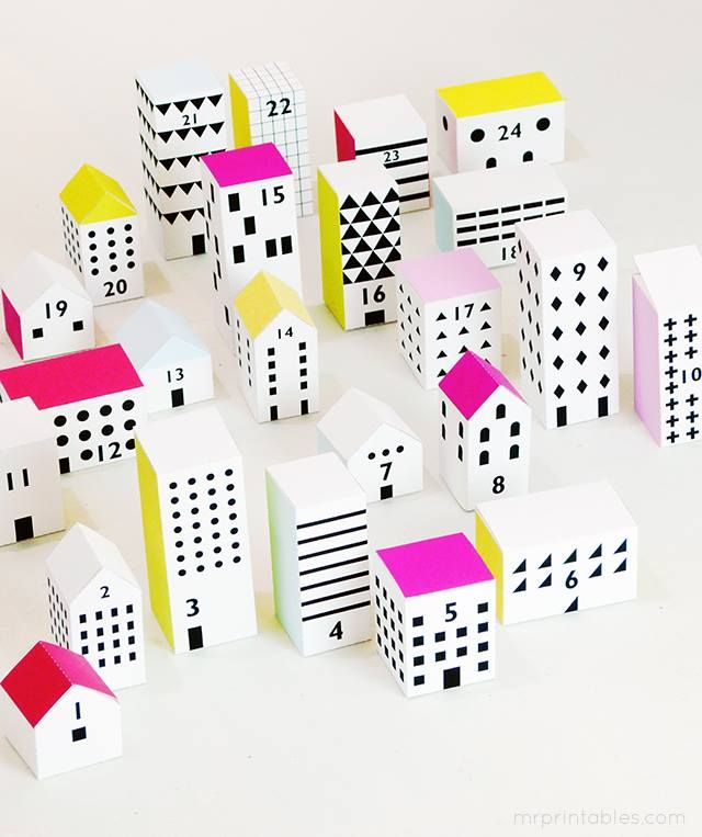 table village merry + bright Pinterest