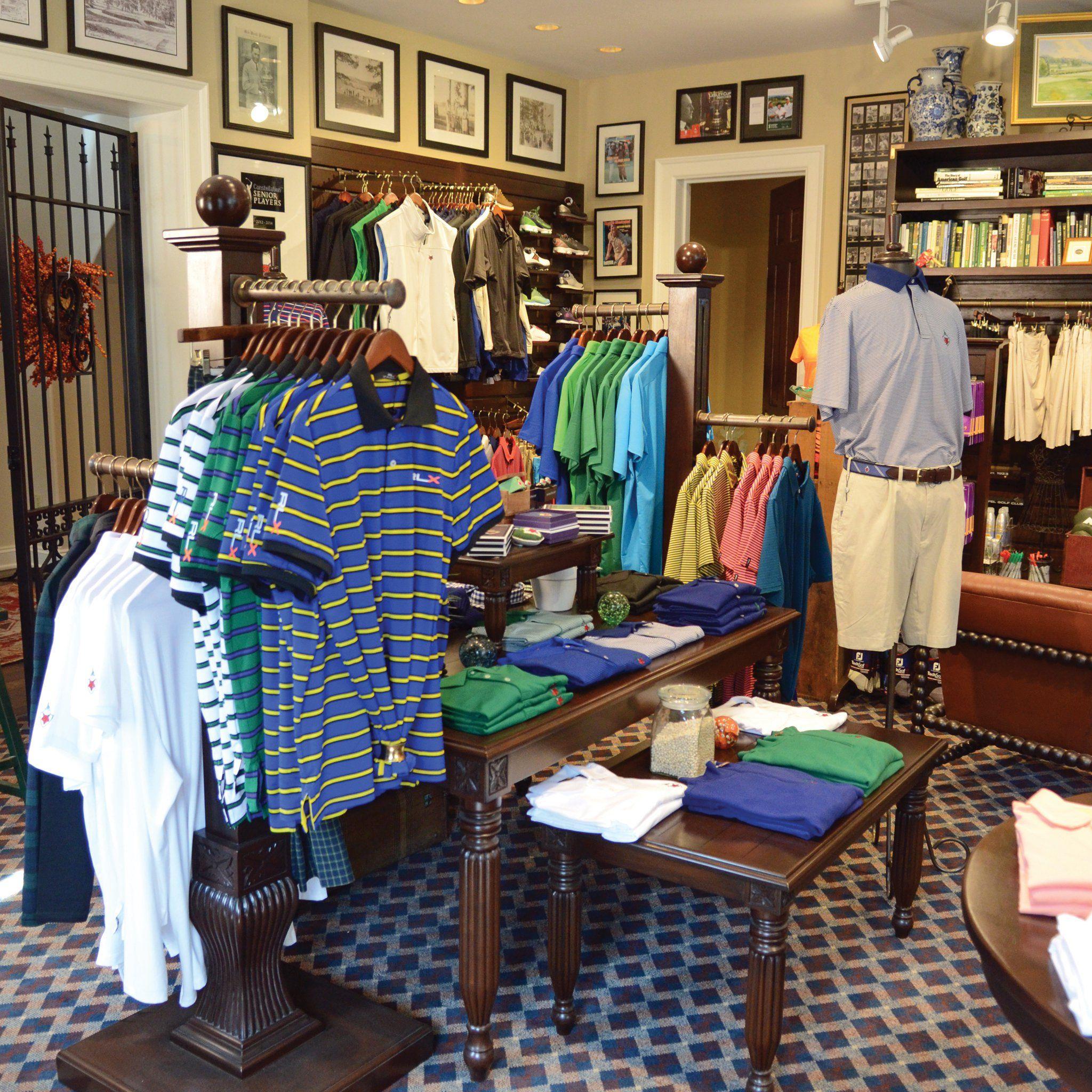 Fox Chapel Golf Club Pro Shop Mahogany Wood Fixtures