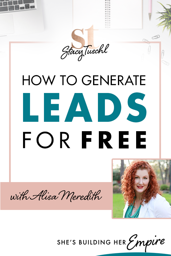 HOW TO GENERATE LEADS FOR FREE | Today I am so excited to actually have