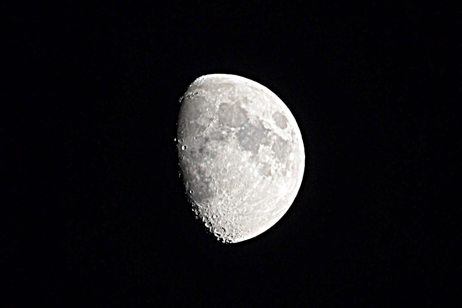 Moon from my home.