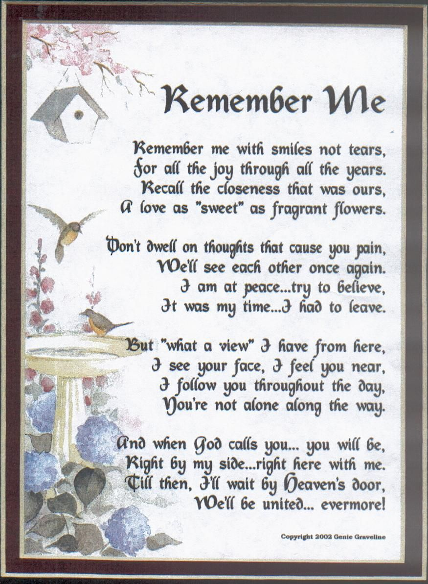 Comfort Poems Death   Loss of a loved one   Pinterest ...