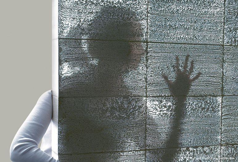 transparent concrete