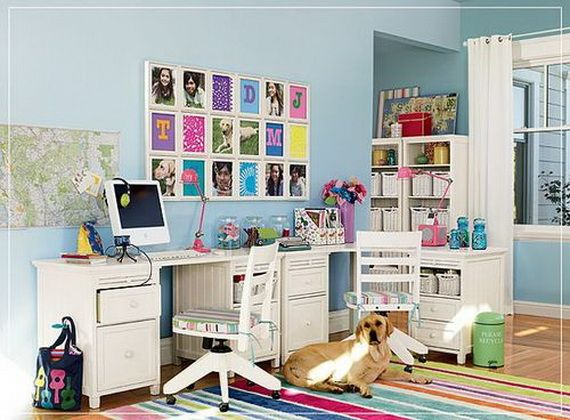23 Diffe Examples For Colorful Home Office Workplace Design Ideas A Cheerful To Improve The Mood While Working