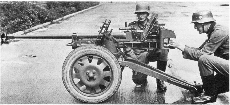 "German 50 Mm Anti Tank Gun: 2.8 Cm Schwere Panzerbüchse 41 (sPzB 41) Or ""Panzerbüchse"