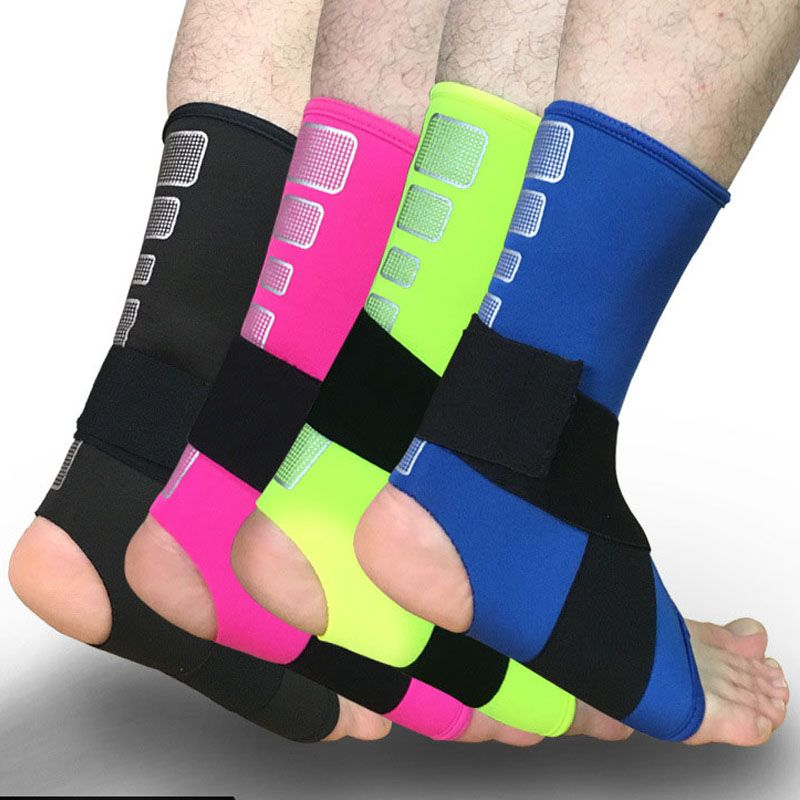 Back To Search Resultssports & Entertainment 1pcs Ankle Bandage Elastic Brace Guard Support Sport Gym Foot Wrap Protection Sports Safety Ankle Support Strong Soft And Light