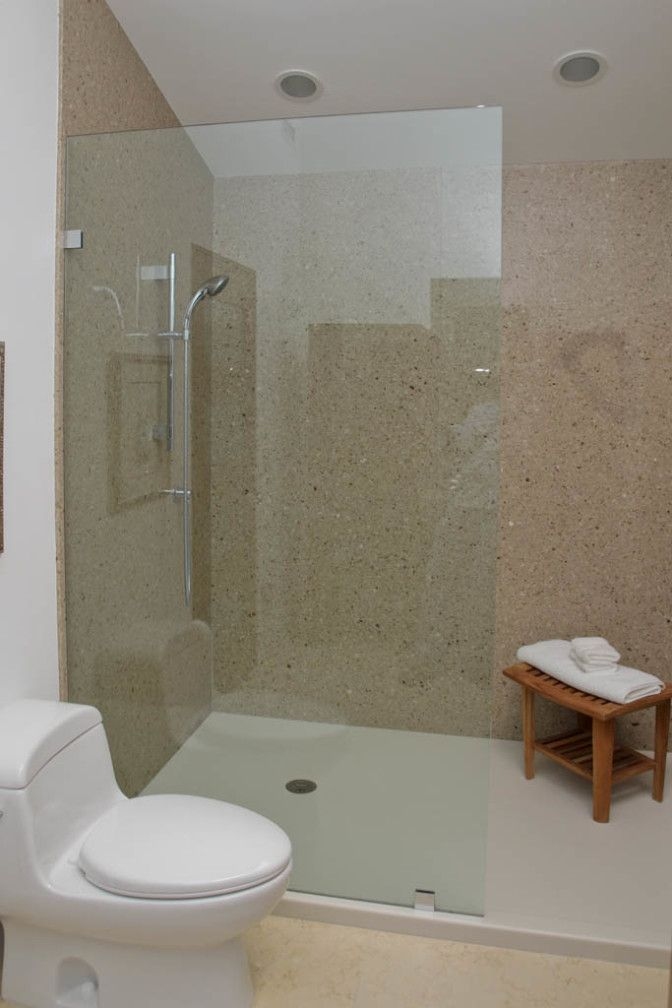 Solid Surface Shower Surrounds From Corian With Images Shower