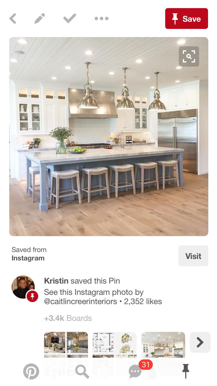 Pin by kristin nicole on kitchen design pinterest kitchen design