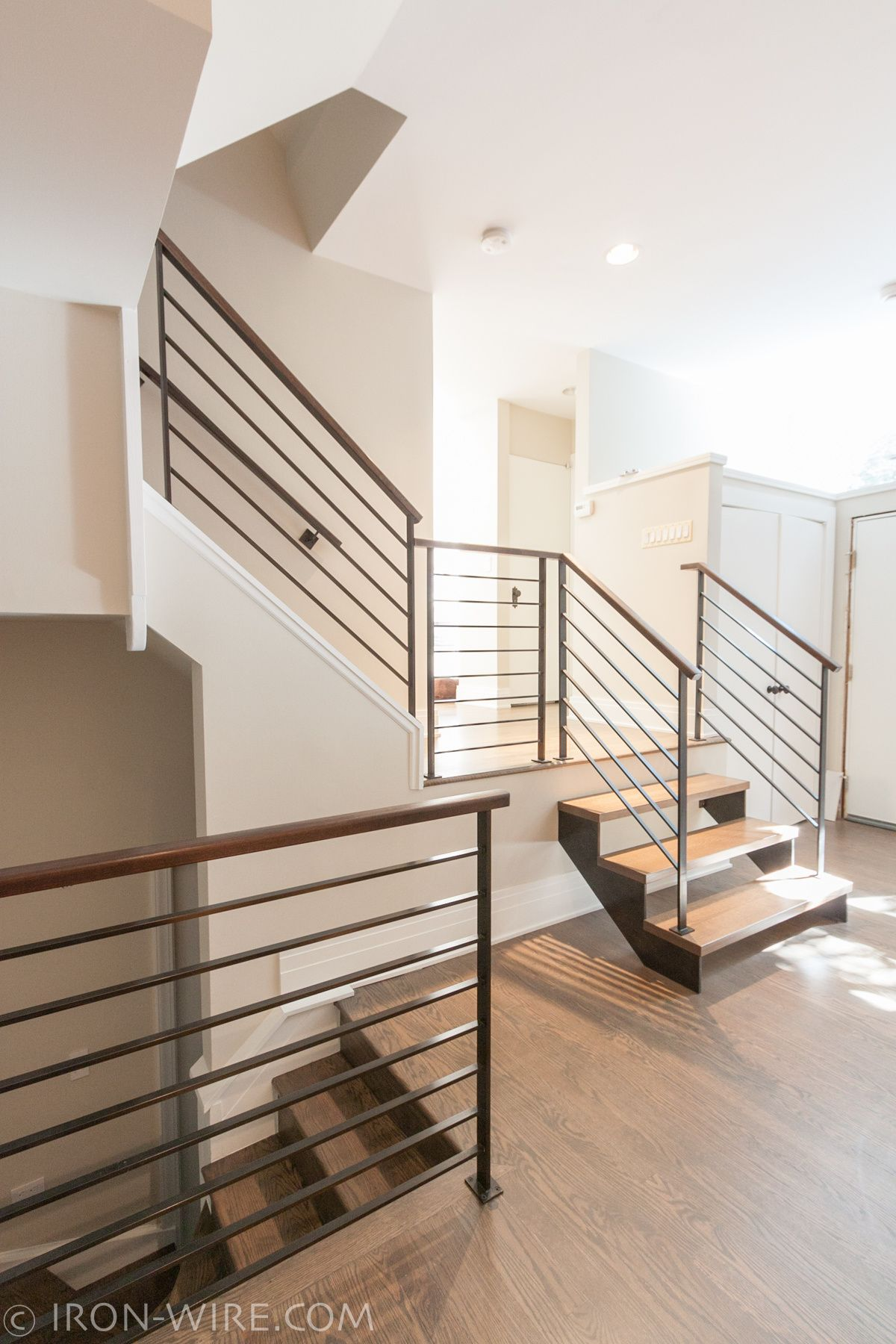 Wonderful Modern Railings, Custom Stairs Chicago, Modern Staircase Design Chicago, Custom  Stair Design,