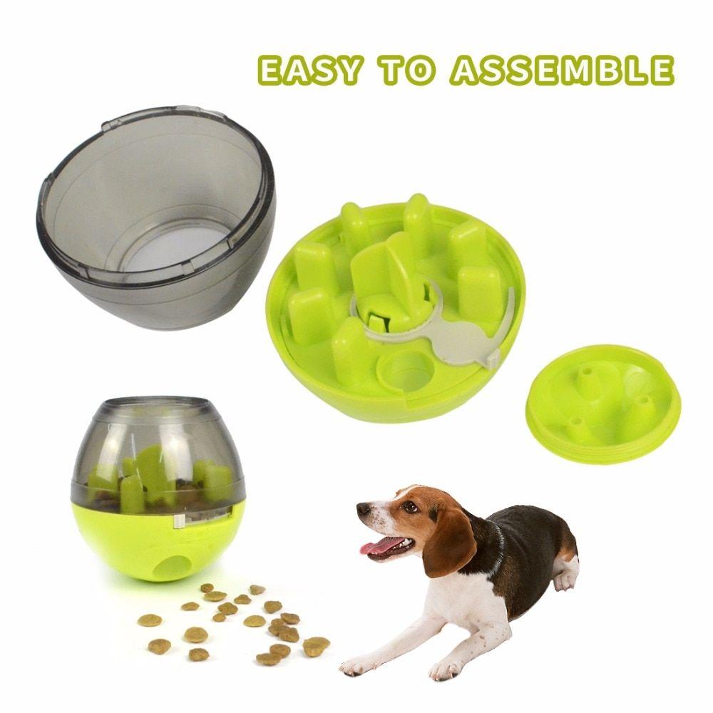 Dog Tumbler Leakage Ball Food Dispenser Toy Pet Toys Pets Dog Toys