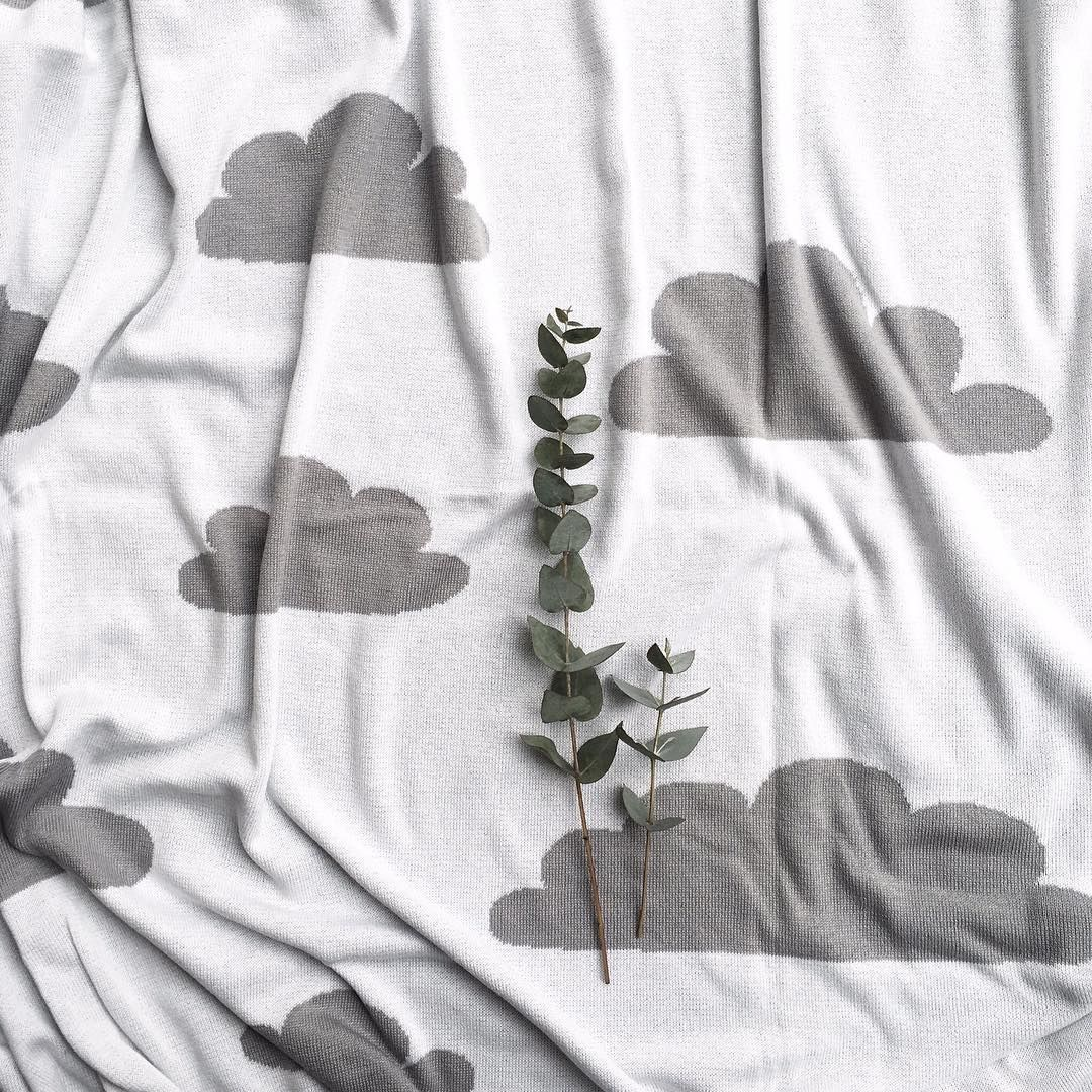 Now we exactly know what does it mean to hover in the  #clouds  #textile #homedecor
