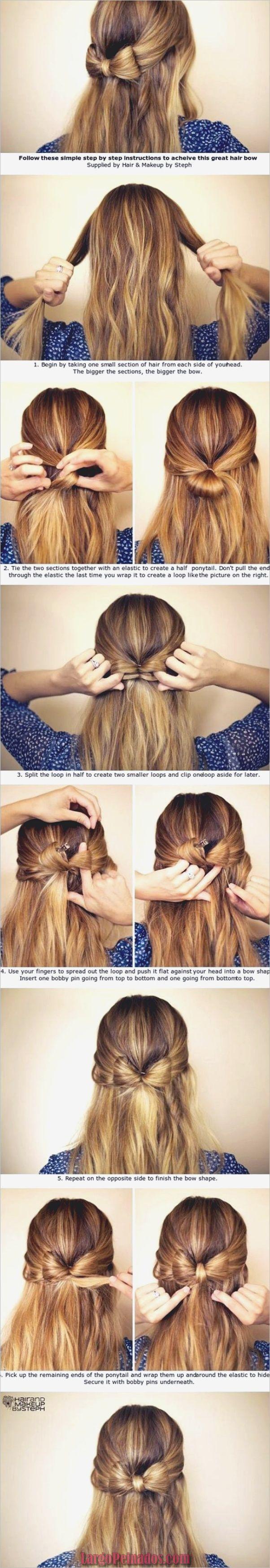 20 peinados muy fáciles para mañanas muy ocupadas ,  #Fáciles #hairpeinadosmornings #mañanas …