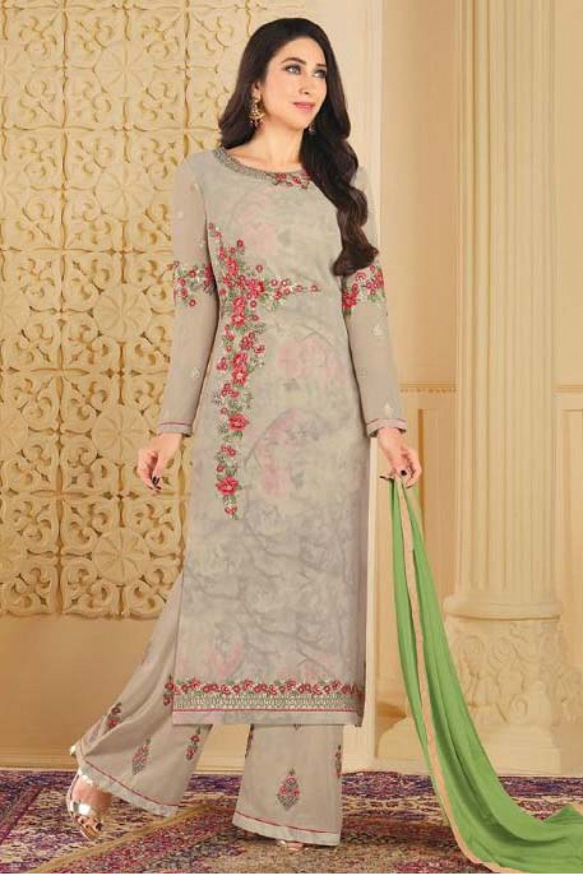 Pant Palazzo Suits Party Wear