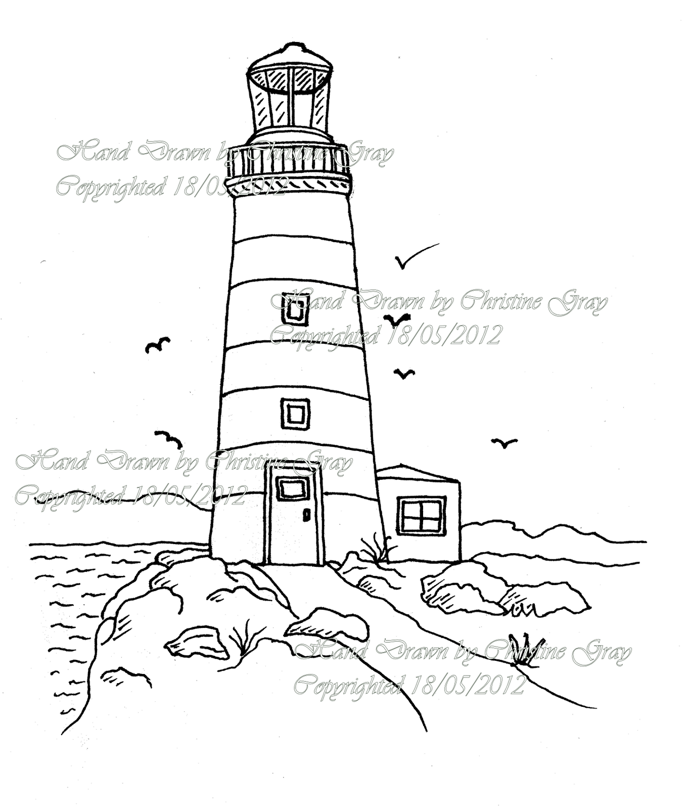Simple Lighthouse Drawings Related Keywords  U0026 Suggestions
