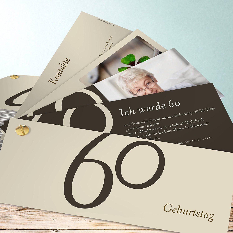 einladungskarten zum 60 geburtstag | einladungskarten 60