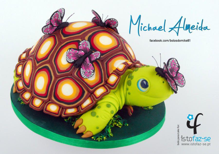 LOVELY TORTOISE Cake by Michael Almeida Cakes Cake Decorating