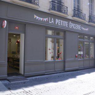 la petite epicerie une boutique diy paris exterior. Black Bedroom Furniture Sets. Home Design Ideas