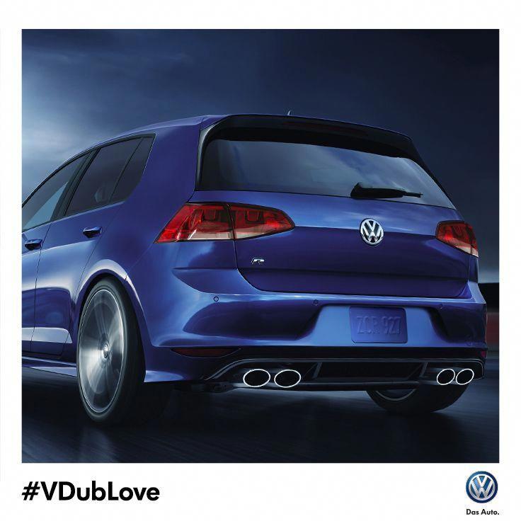 Lots of VDubLove for the allnew 2015 Golf R