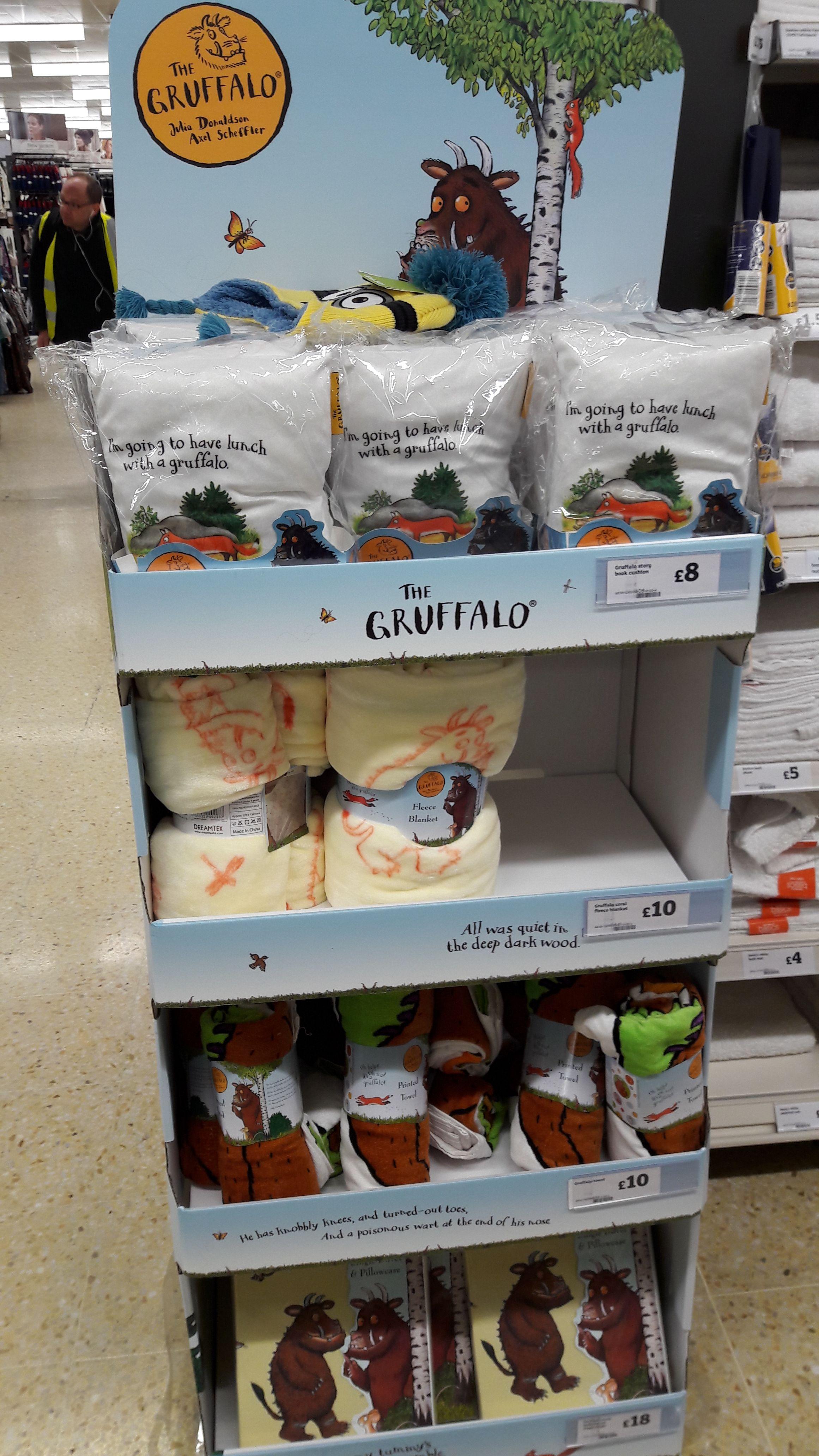 White apron sainsburys - The Gruffalo Bedding Range From Dreamtex In Sainsbury S