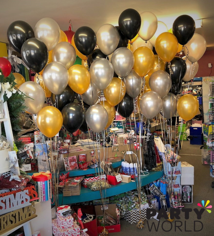 Helium Balloon Displays For Great Gatsby Themed Party Looking