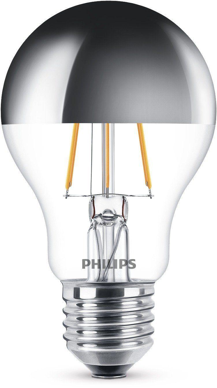 Philips Led Lampe Ersetzt 48w Eek A E27 Warmweiss 2700 Kelvin 620 Lumen Klar Kopfspiegellampe Amazon De Beleuchtun Led Lampe Lampe Led Aussenleuchten