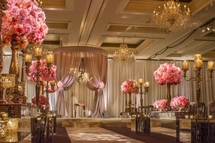 The soft romance of sheer airy wedding canopies remain as classic as the fairy tale & The soft romance of sheer airy wedding canopies remain as classic ...