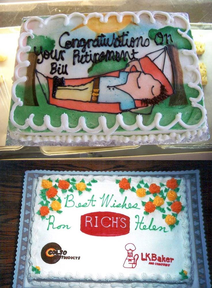 Placing Retirement Cake Ideas In The Right Moment Retirement Cake
