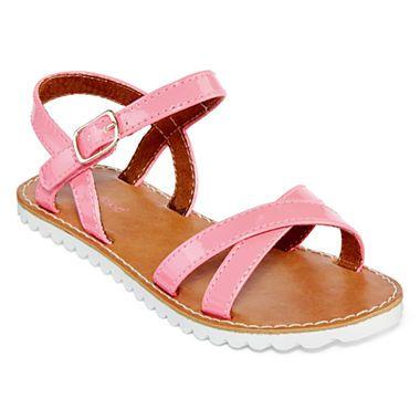 jcpenney.com | Okie Dokie® Sheri Girls Sandals - Toddler