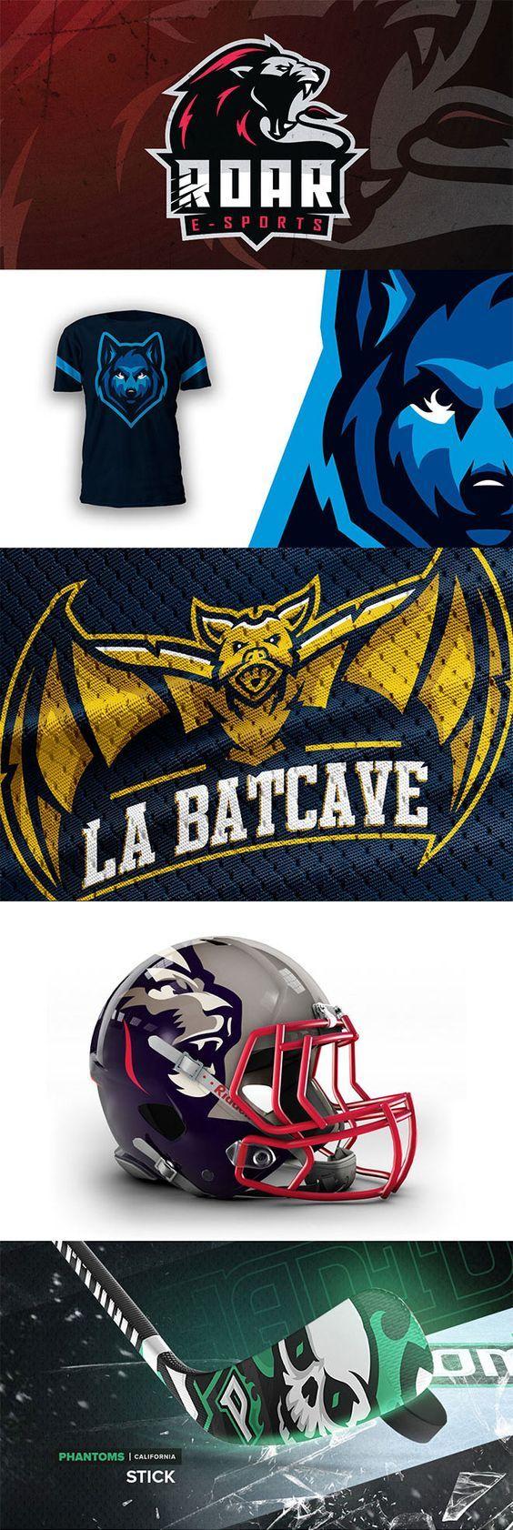 45 Mascot Logo Designs for Sports & eSports Teams Car