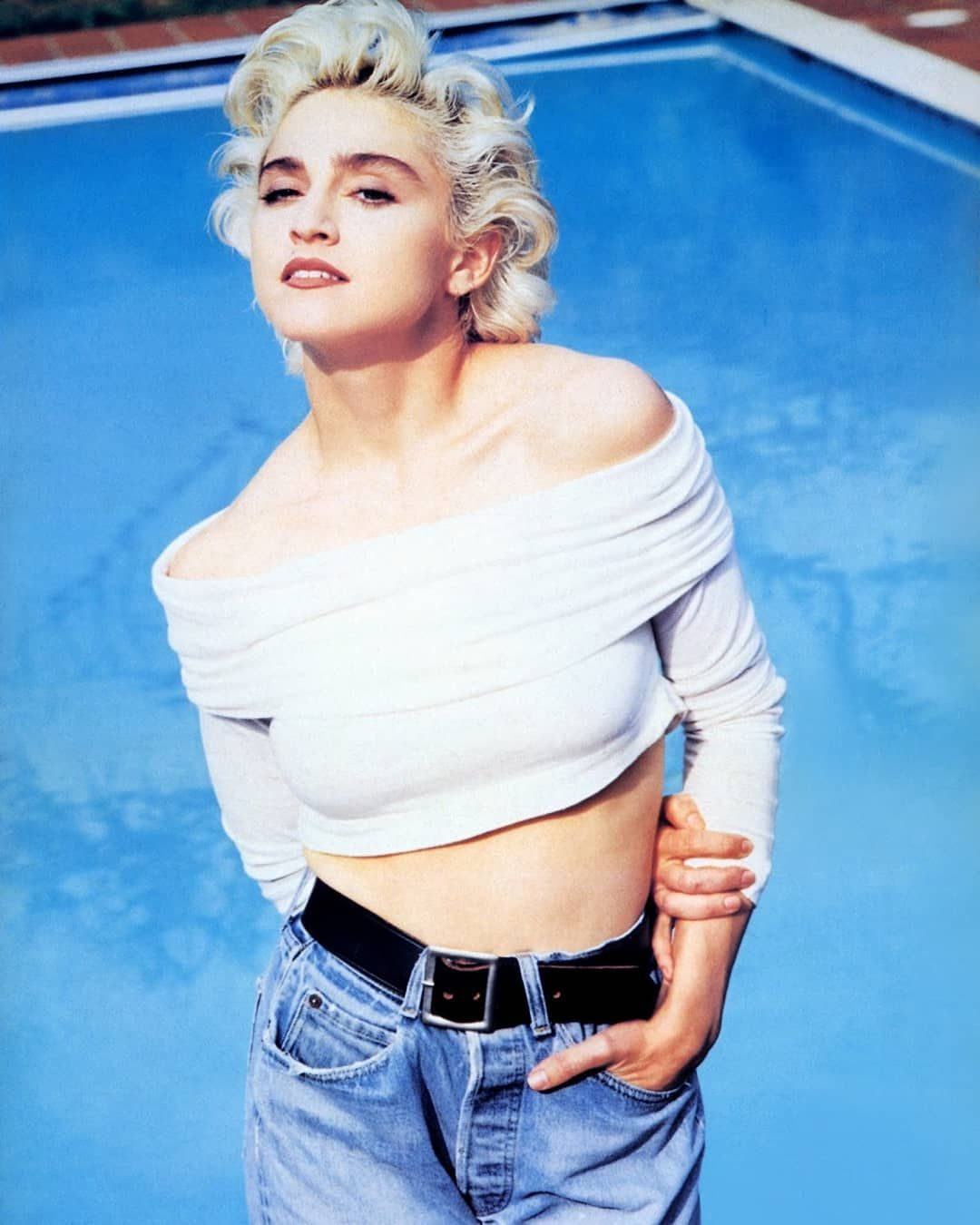Madonna80s On Instagram Love Instagood Fashion Beauty Music Blonde Blueeyes Blondehair 80s Ame Madonna Vogue Madonna Fashion Madonna Pictures
