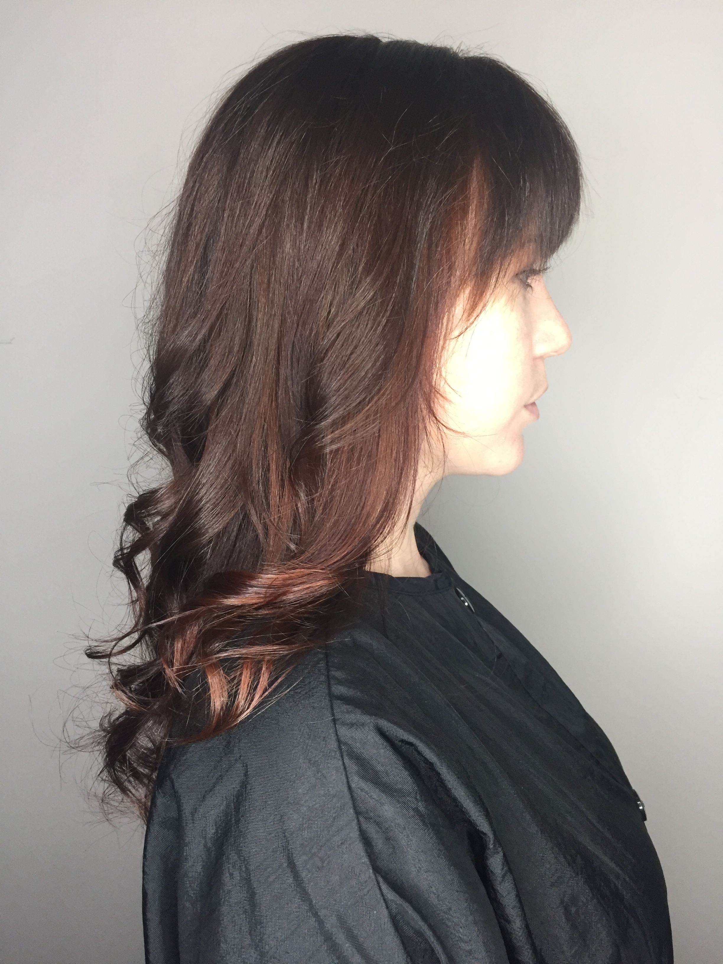Warm Rich Fall Brown With Subtle Hints Of Copper By Amber Mutter At