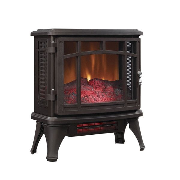 Duraflame DFI-8511-02 Bronze Infrared Quartz Electric Stove Heater - 17763007 - Overstock.com Shopping - Great Deals on DURAFLAME Heaters