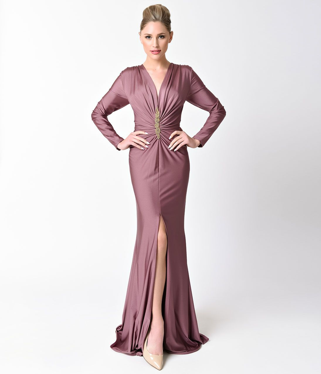 1930s Evening Dress Art Deco Gown Party Dress Purple Prom Dress Prom Dresses Long With Sleeves Prom Dresses With Sleeves [ 1275 x 1095 Pixel ]