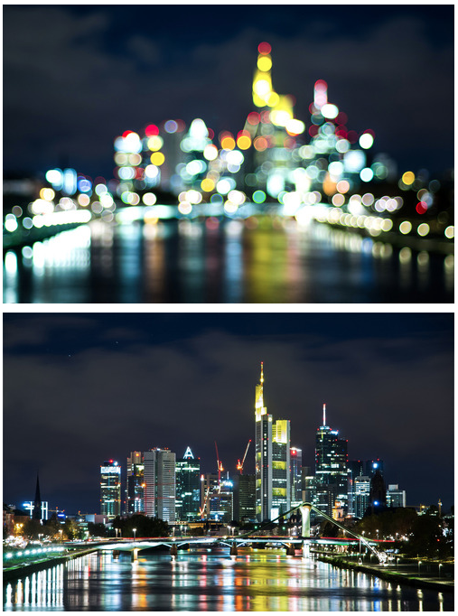 frankfurt by night deutschland fluss und stadt. Black Bedroom Furniture Sets. Home Design Ideas