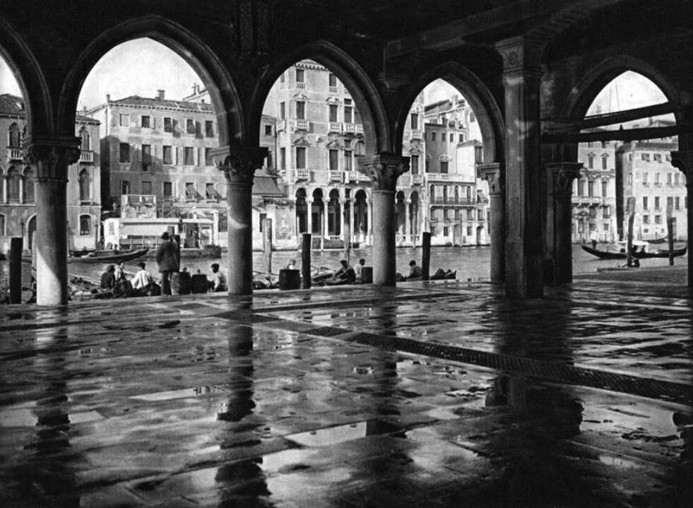 El mercado de pescado de Rialto (Venecia)