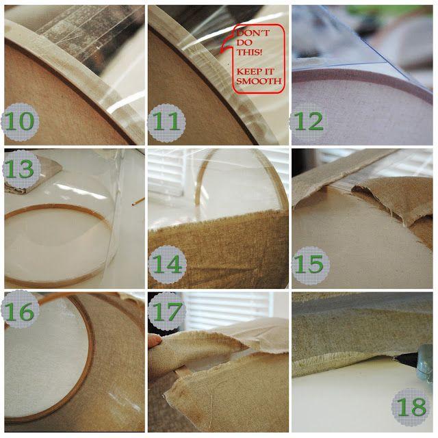5 is the Magic Number: DIY Drum Lamp Shade Tutorial