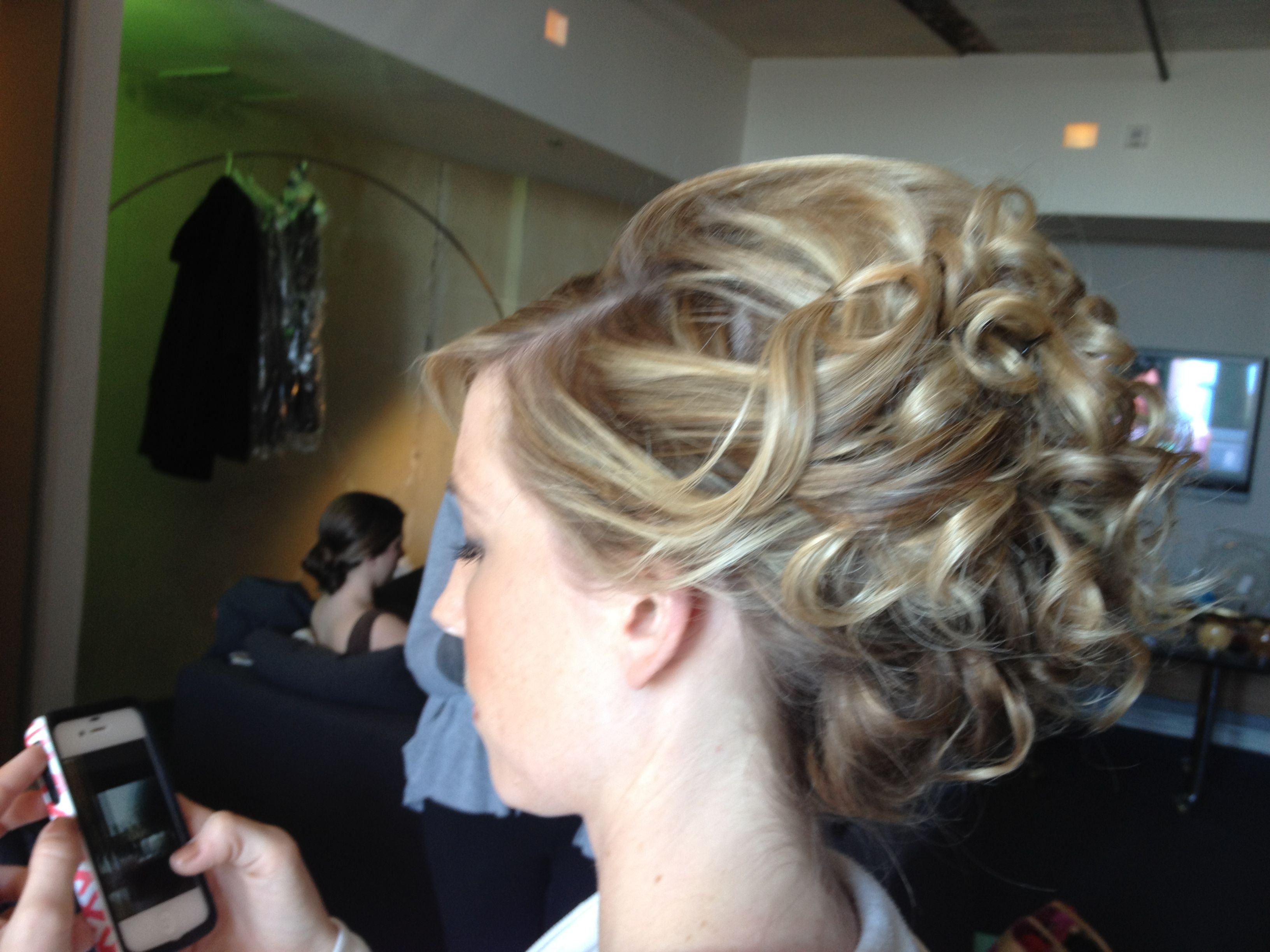 Holley hair . One of my wedding updo's