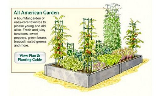 Garden technology how to plan your vegetable garden for Small veggie garden layout