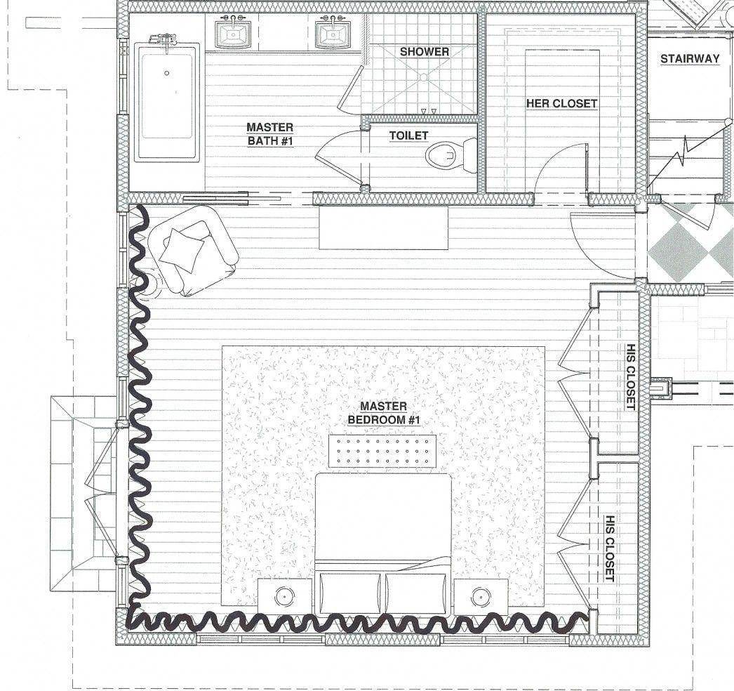 Master Bedroom Layout And Design Desain Desain Interior Interior