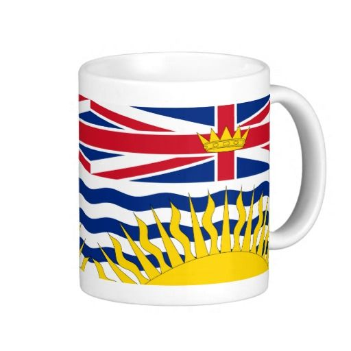 British Columbia flag Mug Mug