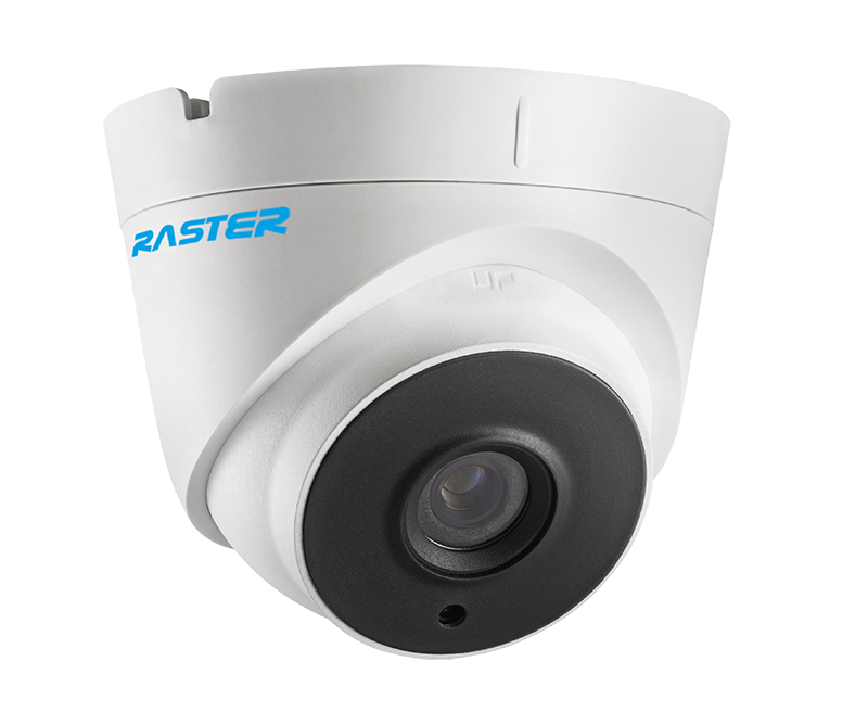 2.1MP HDTVI 3.6mm Fixed Dome Cctv Surveillance 4 in 1 Security Camera IP67