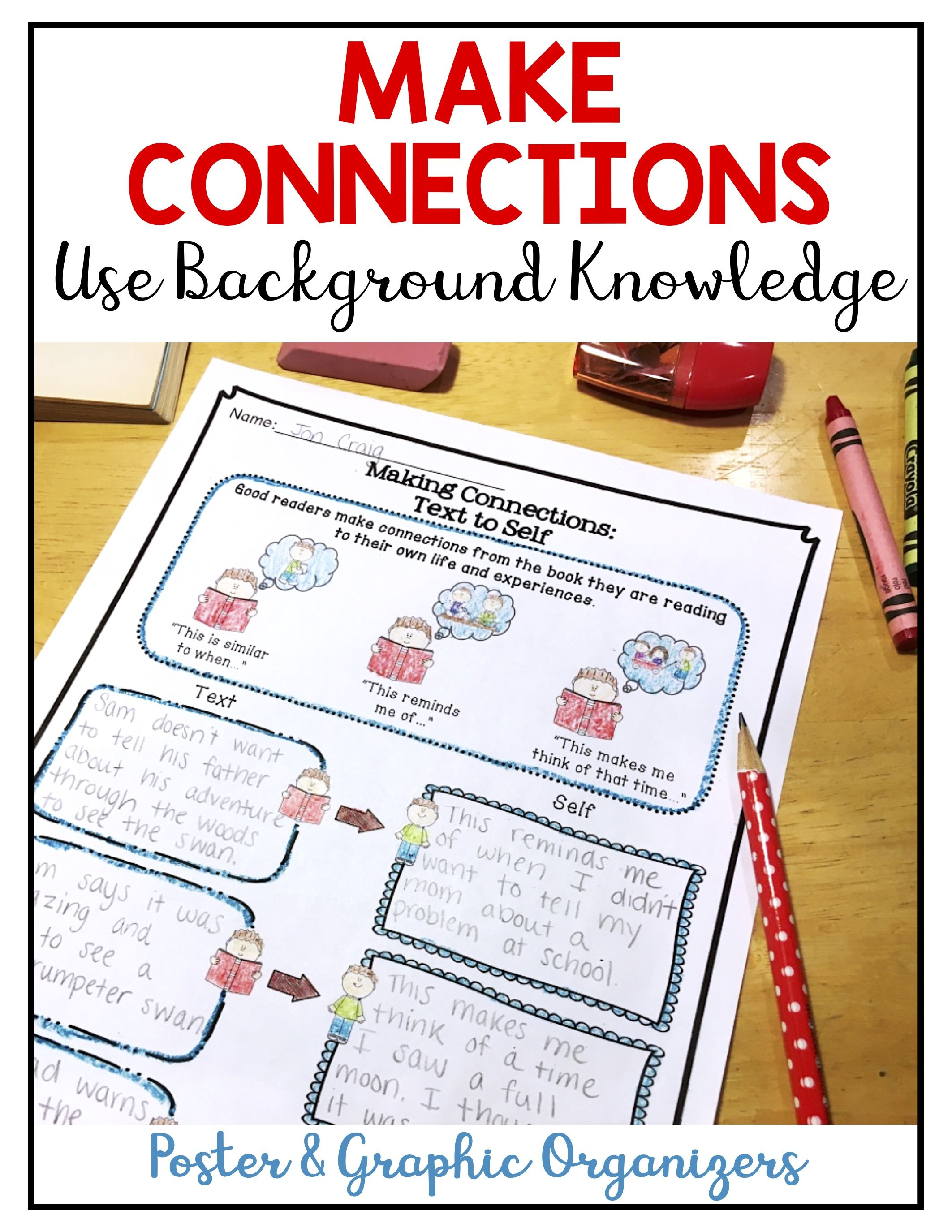 Use Background Knowledge Make Connections Reading Comprehension