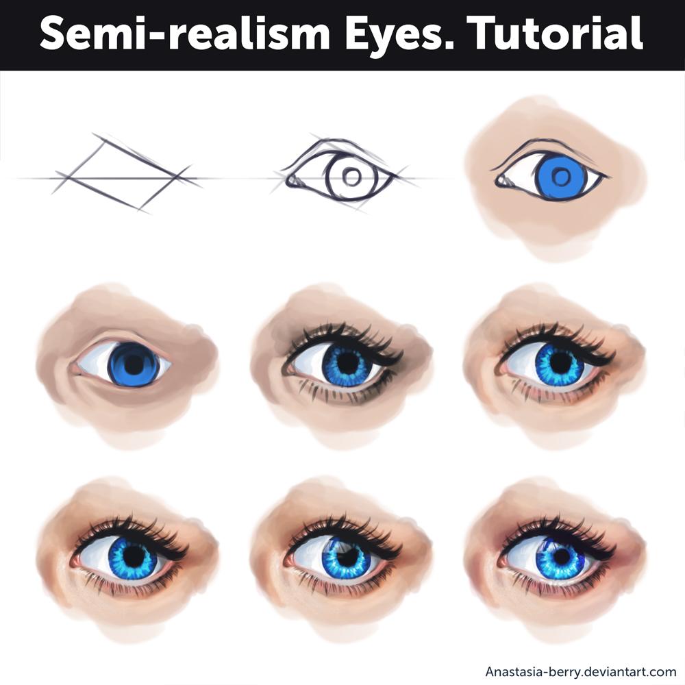 Semi-realism eyes - Tutorial by Anastasia-berry on ...