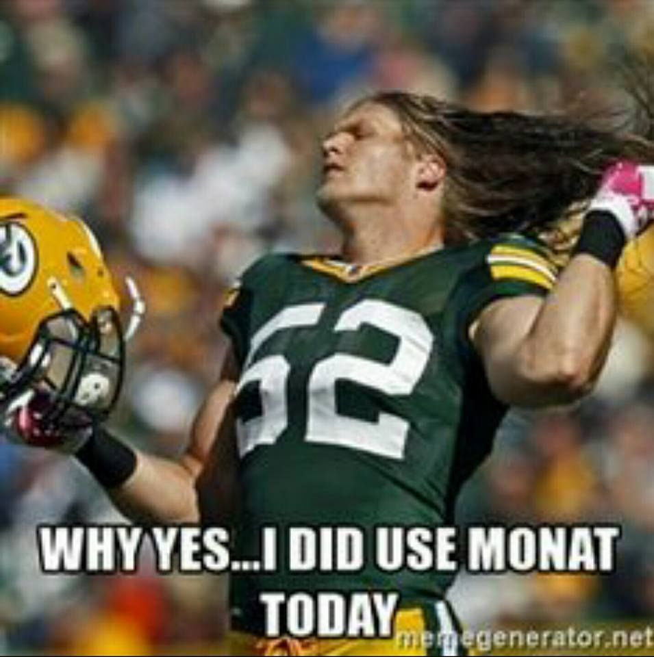 Guys Love Monat Green Bay Packers Clay Matthew Flips His Gorgeous Long Hair Football Funny Sports Humor Sports