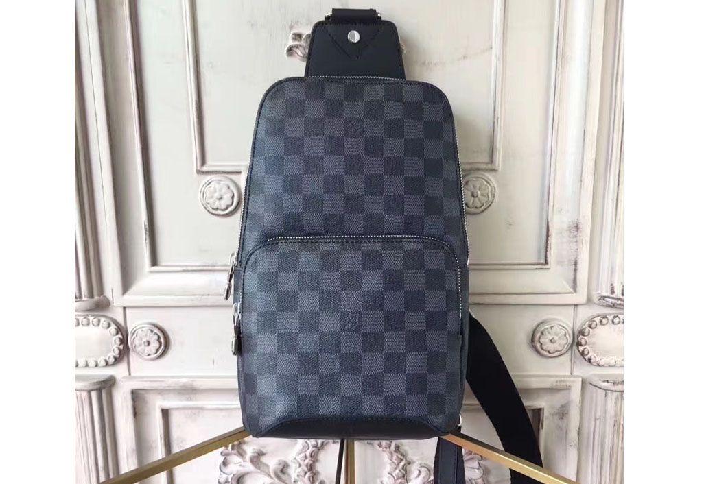 0821084a0 Louis Vuitton Damier Graphite Canvas Avenue Sling Bags N41719 | bags ...