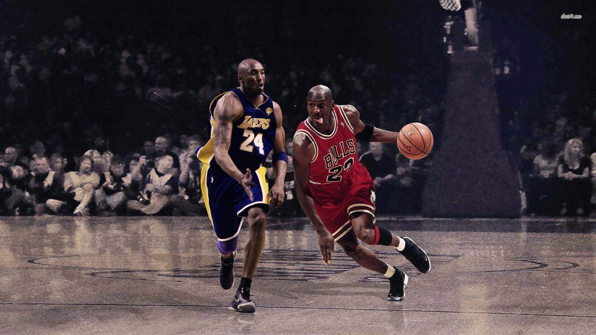 Michael Jordan Wallpaper High Definition Flip Wallpapers Download Free Wallpaper Hd Kobe Vs Jordan Shaq And Kobe Basketball Wallpaper