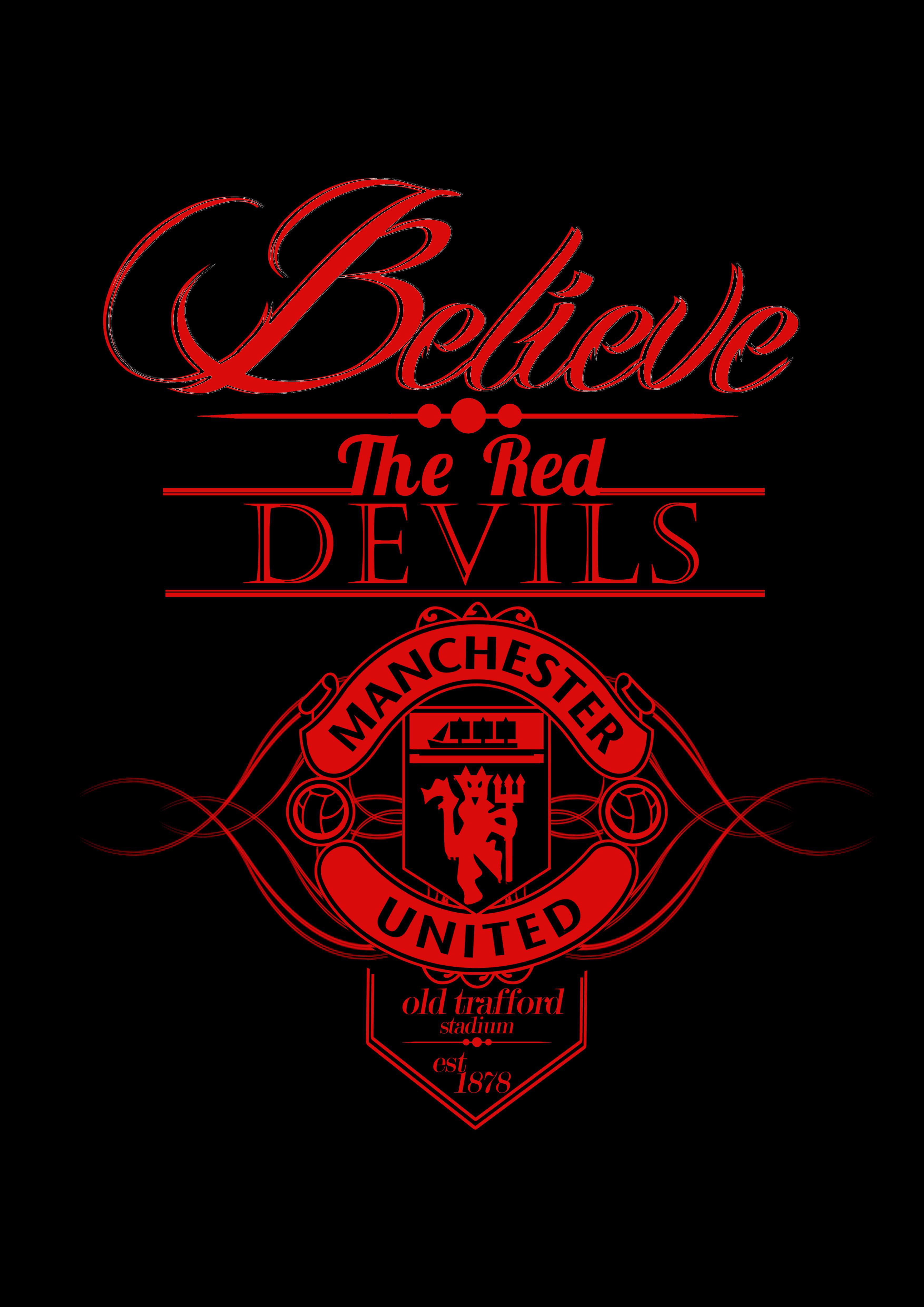 Typograpghy Logo Icon Slogan History Nickname Football Club And Respect F Manchester United Fans Manchester United Wallpaper Manchester United Logo