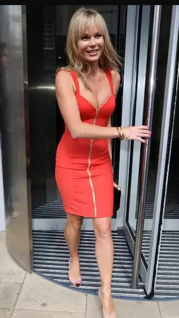 Red Dress Amanda Holden Sexy